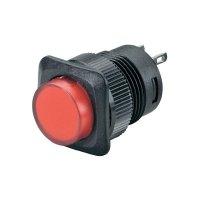 Tlačítkový spínač R13-508B-05 červený