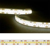 LED pásek 3528 240LED/m IP54 19.2W/m bílá teplá (1ks=2,5cm) zalitý