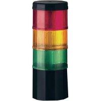 LED signalizační sloupec Werma Fernost 969.009.75, 90 mA, IP54, červená, žlutá, zelená