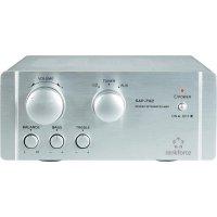 Stereo zesilovač Renkforce SAP-702, 2 x 20 W, hliník