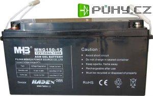 Pb akumulátor MHB VRLA AGM 12V/150Ah trakční