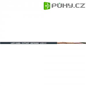 Datový kabel UNITRONIC LIYD11Y 2 x 0,25 mm2, černá