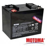 Baterie olověná 12V/75Ah MOTOMA pro soláry