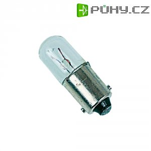 Malá trubková žárovka Barthelme 00222203, 13 - 11 mA, BA9s, 3 W, čirá, 220 - 260 V