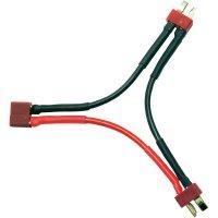 Y kabel sériový Modelcraft, T konektor, 700 mm, 2,5 mm²