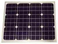 Fotovoltaický solární panel 12V/50W monokrystalický