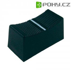 Krytka na přepínač Cliff CP3260, CS, 4 mm, černá