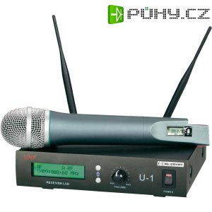 Sada bezdrátového mikrofonu Mc Crypt U-1