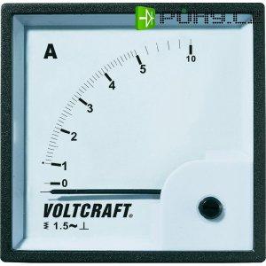 Analogové panelové měřidlo VOLTCRAFT AM-72X72/5A 5 A