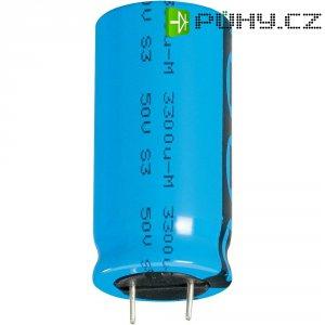 Kondenzátor elektrolytický Vishay 2222 048 65222, 2200 µF, 16 V, 20 %, 25 x 12,5 mm