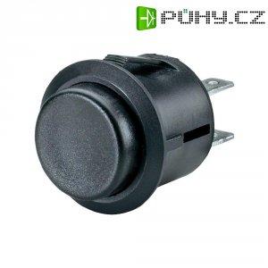 Tlačítko SCI, R13-527A-02BK, 250 V/AC, 6 A, vyp./(zap.), černá