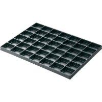 Box s přihrádkami Licefa, TE424610 ESD, 42 x 36 mm, černá