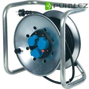 Kabelový buben AS Schwabe, 21303, 3 zásuvky, 25 m, černá