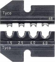 Krimpovací čelisti pro solární konektory Solarloc Knipex, 1,5-6,0 mm²