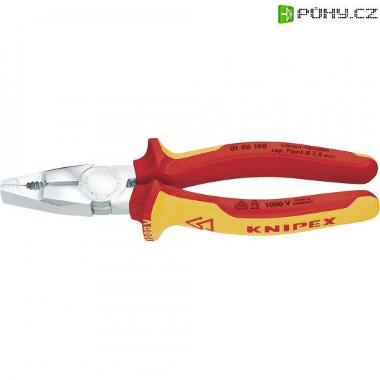 Kombinované kleště VDE Knipex 01 06 160, 160 mm - Kliknutím na obrázek zavřete