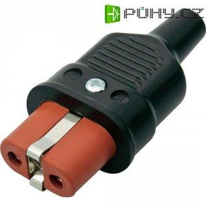 Síťová IEC zásuvka Kalthoff 344P/Si, 250 V 16 A, černá, červená, 344002