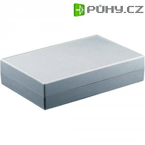 Stolní pouzdro ABS Axxatronic GEH.-SERIE 70 - 145X90X45, (d x š x v) 145 x 90 x 45 mm, šedá