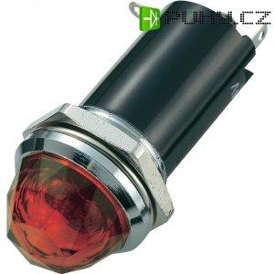 Signálka SCI, 12 V/DC, 16,2 mm, kulatá, červená