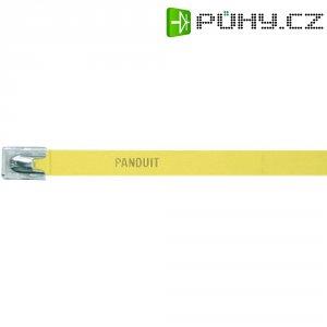 Hliníkový stahovací pásek 140 x 7,9 mm, žlutý, Panduit -MLT1H-LPALYL 222 N