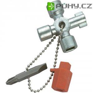 Klíč ke skříňovému rozvaděči Knipex 00 11 02, 44 mm, 70 g