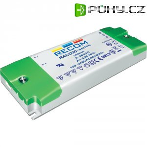 Napájecí zdroj LED Recom Lighting RACD20-350, 6-56 V/DC, 350 mA