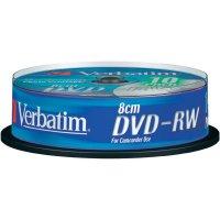 Verbatim DVD-RW 1,4GB 8CM 2X 10 ks SP
