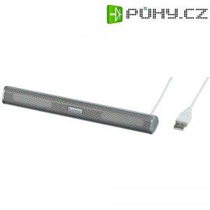 Mobilní mini reproduktor Hama Sonic Mobil 250, USB, stříbrný