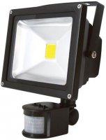 Reflektor LED 20W s PIR čidlem