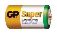 Baterie D (R20) alkalická GP Super Alkaline LR20