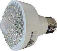 Žárovka LED E27-60x,bílá,230V s PIR čidlem