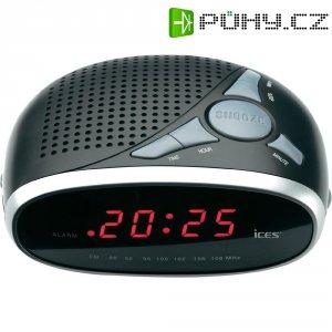 Stríbrný radiobudík Ices ICR-200