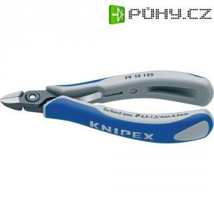 Stranové štípací kleště pro elektroniky Knipex 79 12 125, 125 mm
