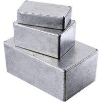 Tlakem lité hliníkové pouzdro Hammond Electronics, (d x š x v) 188 x 119,5 x 37 mm, hliníková