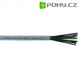 Spirálový kabel LappKabel Ölflex® CLASSIC 110, 12 x 0,75 mm², šedá, 1 m