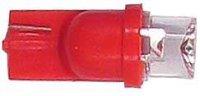Žárovka LED T10 24V/0,25W červená