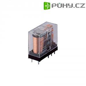 Vysokovýkonné relé G2R-2, 5 A, 2 x UM Omron G2R-2-6V, G2R-2-6V, 5 A , 125 V/DC/400 V/AC 1250 VA/AC 150 W/DC