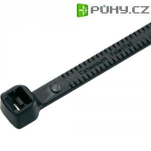 Zalamovací stahovací pásky ABB, 282 x 4,7 mm, 50 ks, černá