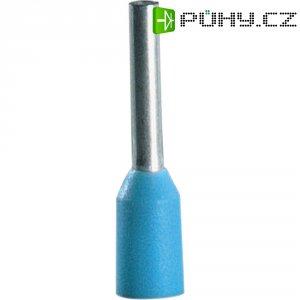 Dutinky s plastovým límcem Vogt Verbindungstechnik 460006, 0,3 mm², 6 mm, světle modrá, 100 ks