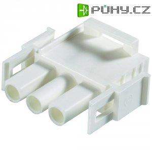 Pouzdro kolíkové Universal Mate-N-Lok TE Connectivity 350736-04, přírodní
