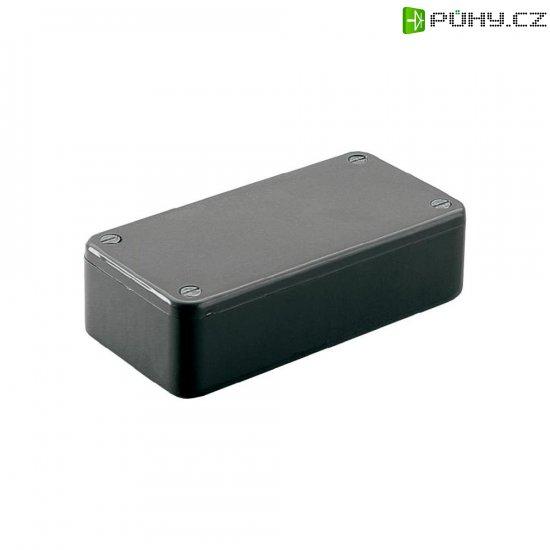 Euro pouzdro Hammond Electronics, (d x š x v) 191 x 110 x 60 mm, černá - Kliknutím na obrázek zavřete
