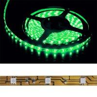 LED pásek 5050 30LED/m IP20 7.2W/m zelená (1ks=10cm)