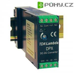 Zdroj na DIN lištu TDK-Lambda DPX-15-48WD-15, ± 500 mA, ± 15 V/DC