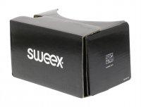 Brýle 3D pro virtuální realitu SWEEX SWVR100 papírové