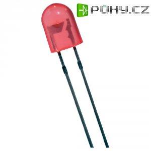 LED dioda oválná s vývody Seoul Semiconductor, LR700D, 20 mA, 5 mm, 2,2 V, 50 °, 1000 mcd, červená