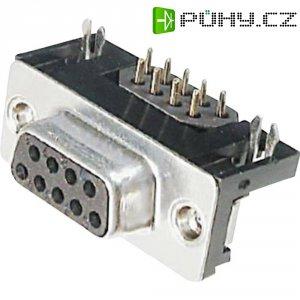 D-SUB zdířková lišta s EMI filtrem Assmann A-DF 15 A/KG-F, 15 pin, úhlový