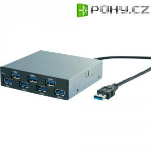 """Přední vestavný panel USB 3.0 8,9 cm (3,5\""""), 7-portový"""