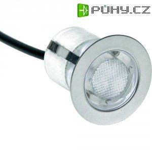 Sada vestavných LED svítidel Brilliant Cosa 30, modré světlo, nerez (G03093/73)
