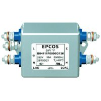 Odrušovací filtr Epcos B84142B0025R000, 250 V/AC, 25 A
