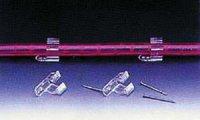 Světelná hadice 44m - příchytka k světelné trubici DOPRODEJ