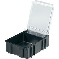 Box pro SMD součástky Licefa, N366101LS, 41 x 37 x 15 mm, černá